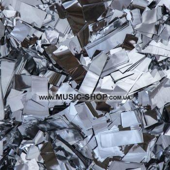 Конфетти, метафан - Серебро Premium 1кг
